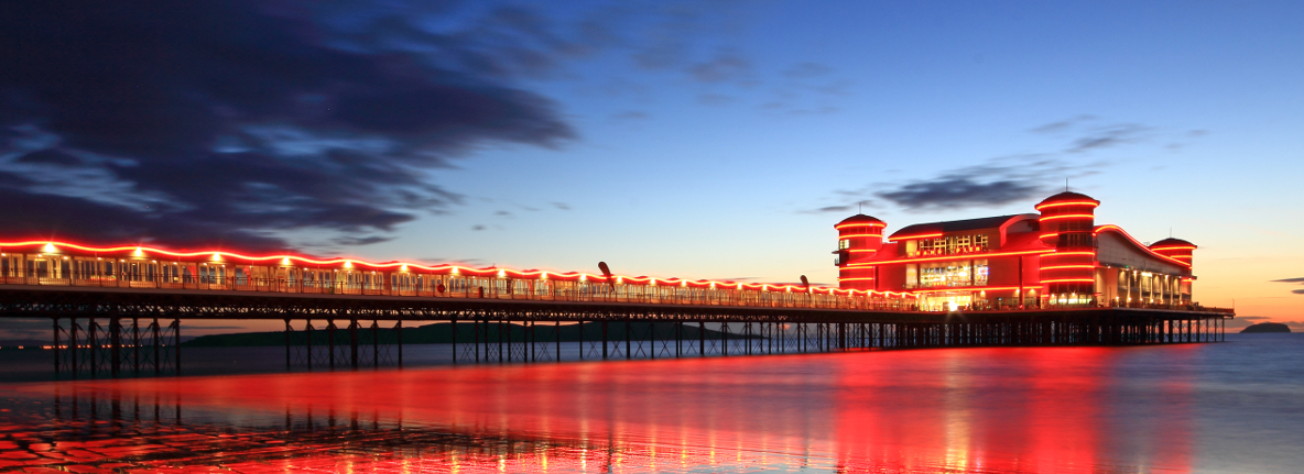 Explore Events at the Grand Pier Weston-Super-Mare
