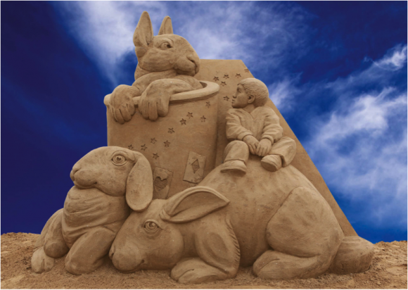 Sun, Sea and Sand Sculptures